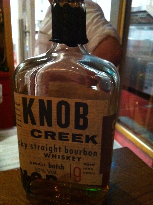 This is in the bar on the campsite 11 euro a shot! 11 euro for KNOB!?!