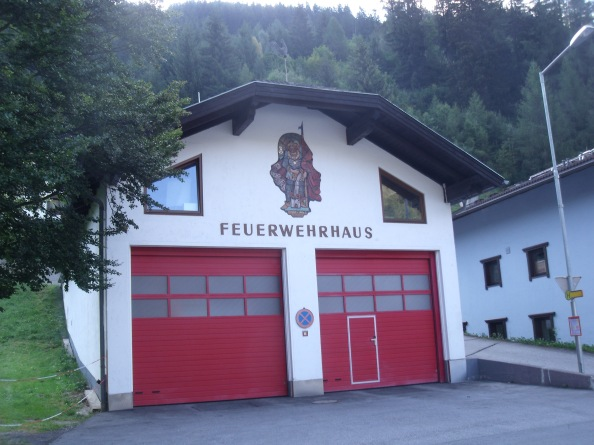 They have such cool fire stations here