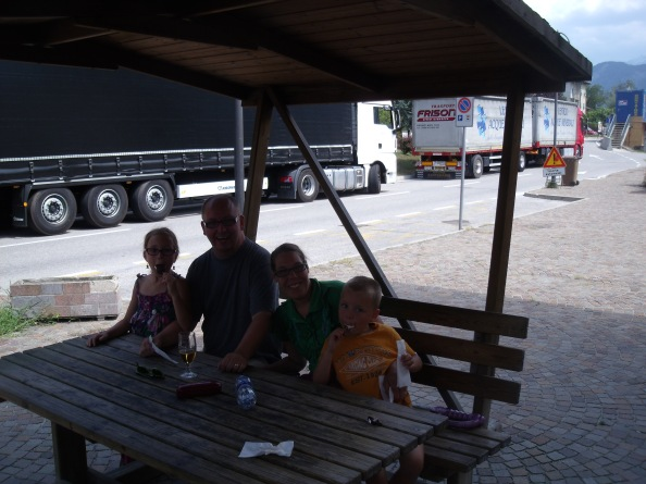 Lovely Dutch family I met at the station