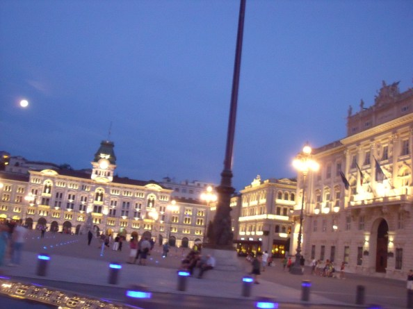 Beautiful square in Trieste