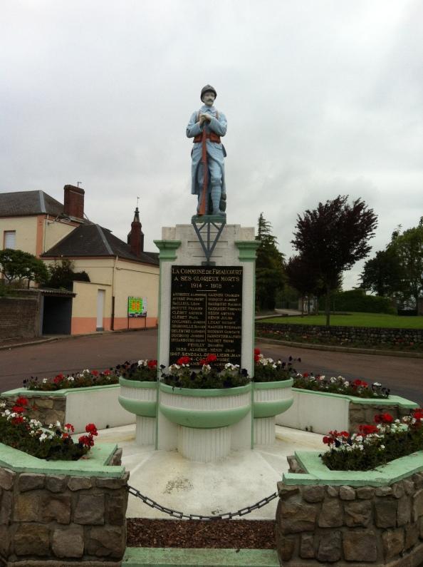 War Memorial at Friaucourt