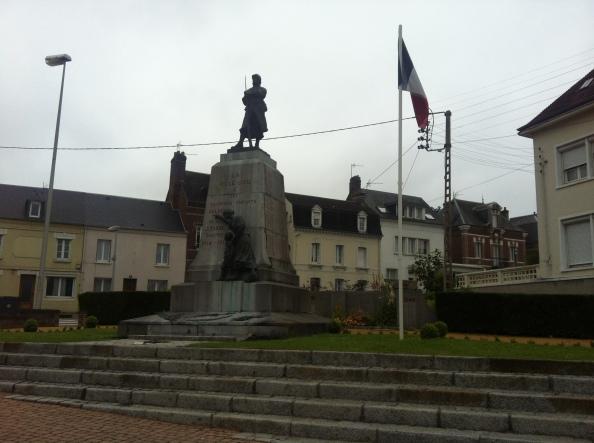 War Memorial in Eu (I think)