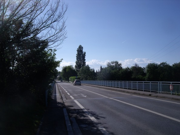 The Horsa bridge as it looks today.