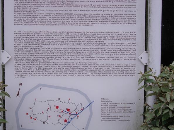 Description of the battle at Blokhaus Hillman