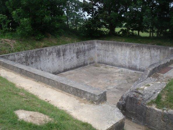 The reservoir at Hillman