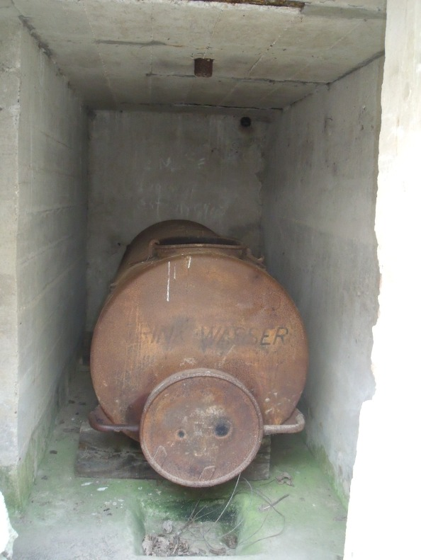 Water storage for command post A