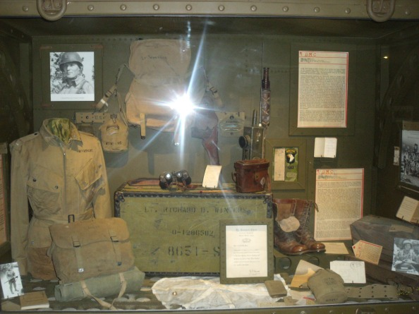Lt. Winters combat equipment.