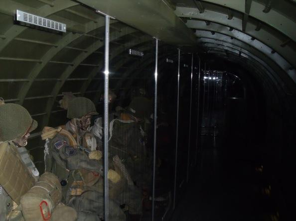 "inside a C-47 ""Dakota"""