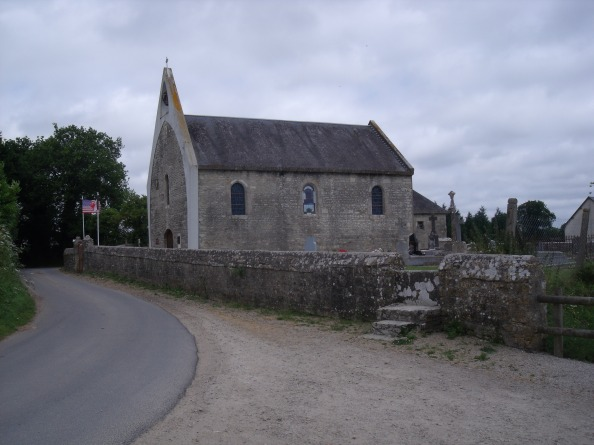 The church at Cauquigny.