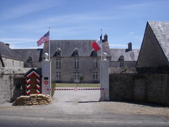 La Maillardiére. German HQ just outside Saint-Marie-du-Mont.