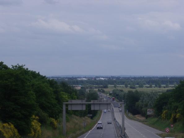 Looking towards Carentan.