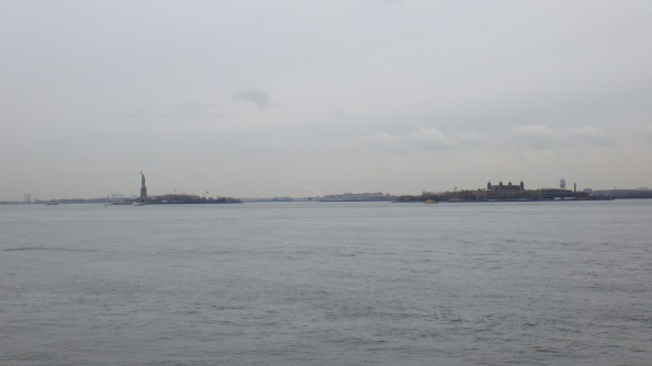 On the Ferry to Liberty Island