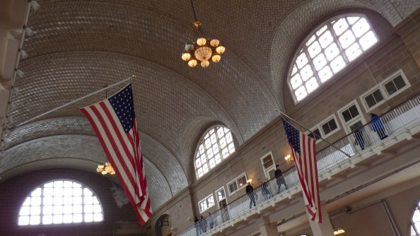 Receiving hall at Ellis Island