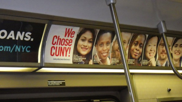 We all choose cuny when we can.