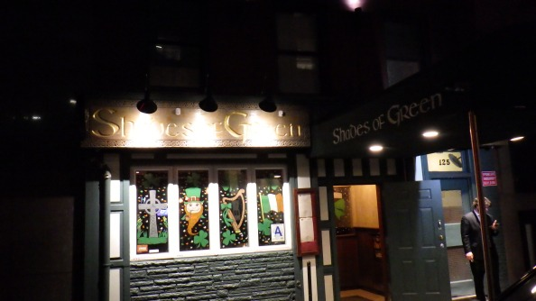 My first Irish Bar